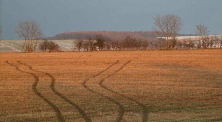 Ploughed field landscape photograph by Jacqui Morley to accompany article on dealing with a teenager's drug use